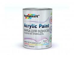 Краска для влажных помещений и откосов Kompozit