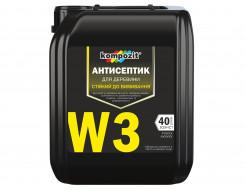 Антисептик для древесины Kompozit W3 стойкий к вымыванию