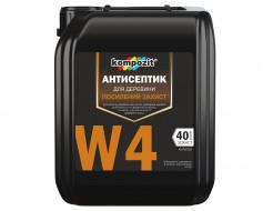 Антисептик для древесины Kompozit W4 для усиленной защиты