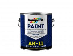 Купить Краска для бетонных полов Kompozit AK-11 прозрачная