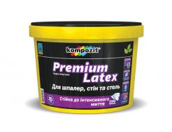 Краска интерьерная PREMIUM LATEX Kompozit бесцветная - интернет-магазин tricolor.com.ua