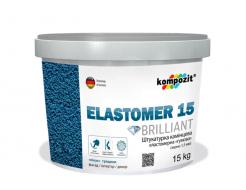 Штукатурка камешковая эластомерная ELASTOMER 15 Kompozit