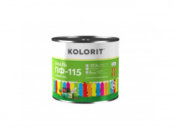 Эмаль ПФ-115 Kolorit красная - интернет-магазин tricolor.com.ua