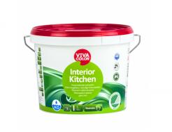 Краска для кухни моющаяся Interior Kitchen Vivacolor прозрачная