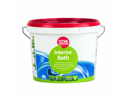 Краска влагостойкая полуглянцевая Interior Bath Vivacolor