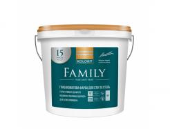 Краска латексная Kolorit Family белая