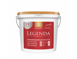 Краска латексная Kolorit Legenda белая