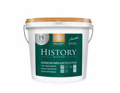 Краска латексная Kolorit History полуматовая