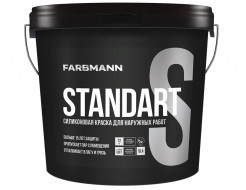 Краска фасадная силиконовая Farbmann Standart S прозрачная