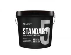 Краска стойкая к мытью Kolorit Standart 5 (база А белая)