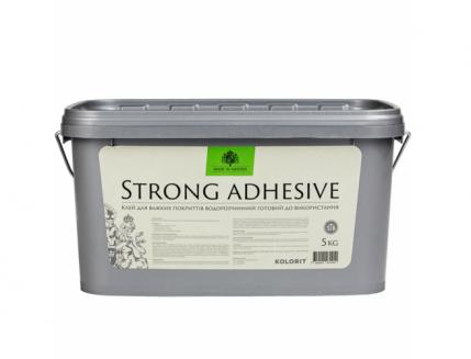 Клей для стеклохолста и тяжелых обоев Kolorit Strong Adhesive