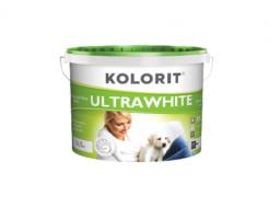 Краска интерьерная ультрабелая Kolorit Ultrawhite Eko