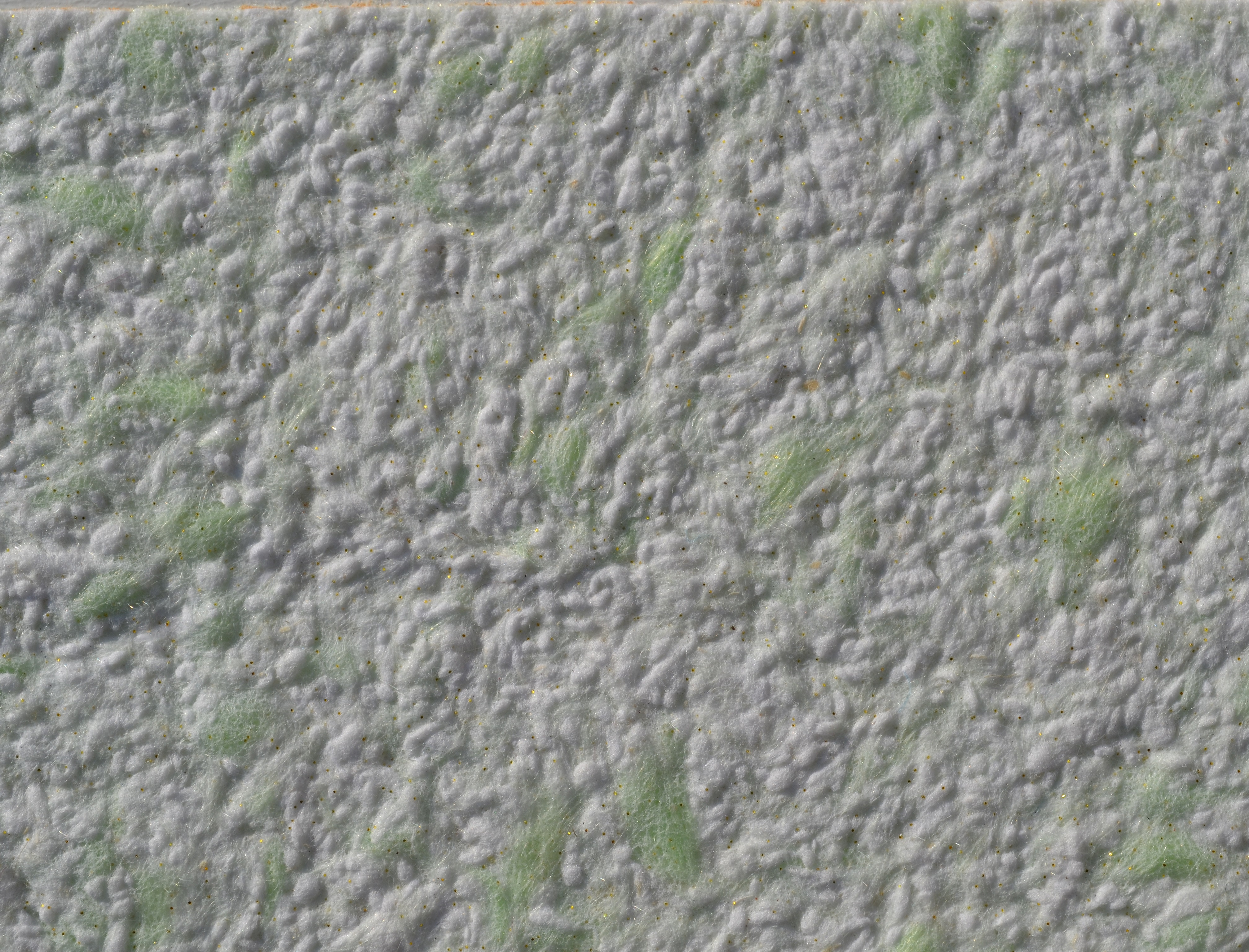 Жидкие обои Юрски Хлопок 1304 бело-зеленые - изображение 2 - интернет-магазин tricolor.com.ua