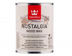 Воск для мебели и стен с карнаубским воском Ностальгия Tikkurila NOSTALGIA кокос
