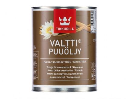 Масло для дерева Валтти Tikkurila VALTTI PUUOLJY - интернет-магазин tricolor.com.ua