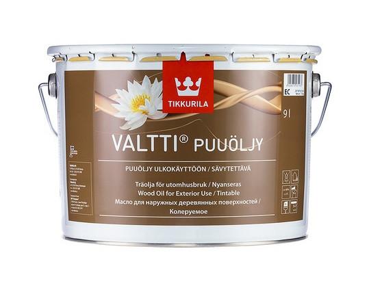 Масло для дерева Валтти Tikkurila VALTTI PUUOLJY - изображение 3 - интернет-магазин tricolor.com.ua