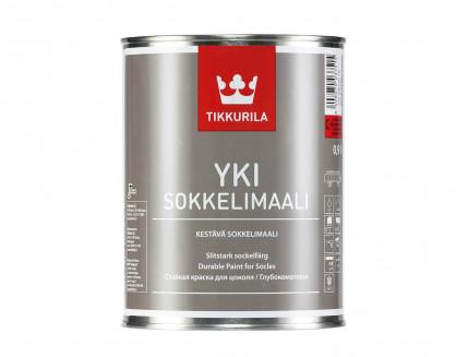 Краска для цоколя Юки Tikkurila YKI белая - интернет-магазин tricolor.com.ua