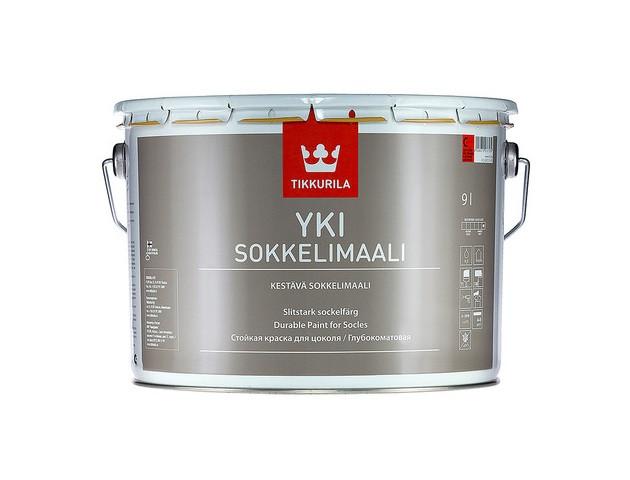 Краска для цоколя Юки Tikkurila YKI белая - изображение 2 - интернет-магазин tricolor.com.ua