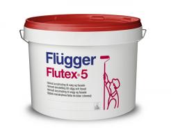 Латексная краска для интерьера и фасадов Flugger Flutex 5 Vit белая