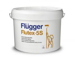 Интерьерная латексная краска Flugger Flutex 5S Vit белая