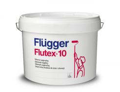 Краска латексная Flugger Flutex 10 Vit