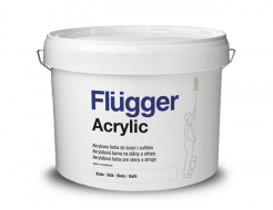 Краска интерьерная Flugger Acrylic Vit
