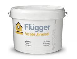 Фасадная краска латексная масляная Flugger Facade Universal Vit белая