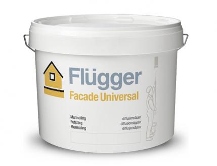Фасадная краска латексная масляная Flugger Facade Universal (Base 3) полупрозрачная