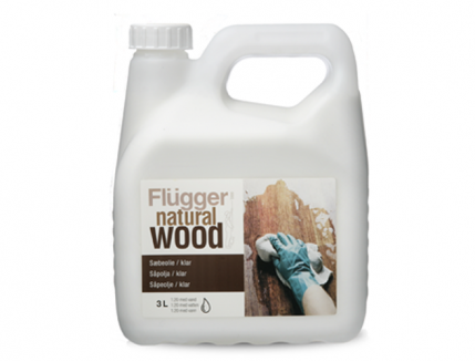 Мыло-масло для паркета Flugger Natural Wood Soap Oil 1:20