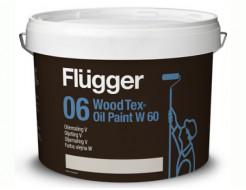 Краска алкидная на водной основе Flugger Wood Tex Oil Paint W60 Vit