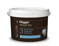 Акриловая латексная краска Flugger Wood Tex Acryl 30 Paint (Base 4 прозрачная