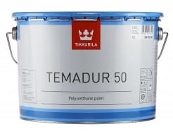 Купить Краска акрилоуретановая 2К Темадур 50 Tikkurila Temadur 50 прозрачная TCL