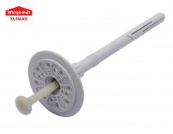 Дюбель для теплоизоляции с пластиковым армированным гвоздем Wkret-met LTX-10120 - интернет-магазин tricolor.com.ua