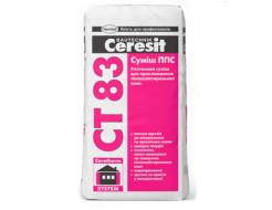 Смесь ППС для крепления плит из пенополистирола Ceresit CT 83 PRO зима