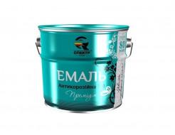 Эмаль антикорозийная 3 в 1 Спектр Премиум черная - интернет-магазин tricolor.com.ua