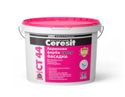 Краска акриловая Ceresit CT 44 прозрачная