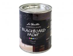Интерьерная грифельная краска Le Vanille черная - интернет-магазин tricolor.com.ua