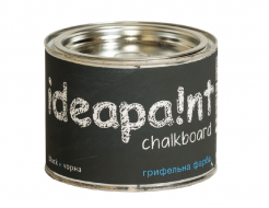 Интерьерная грифельная краска Ideapaint черная