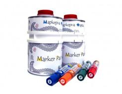 Краска интерьерная маркерная Le Vanille Pro белая матовая