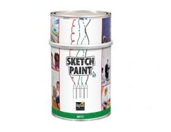 Краска интерьерная маркерная MagPaint Sketchpaint белая матовая