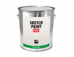 Краска интерьерная маркерная MagPaint Sketchpaint Pro прозрачная глянцевая