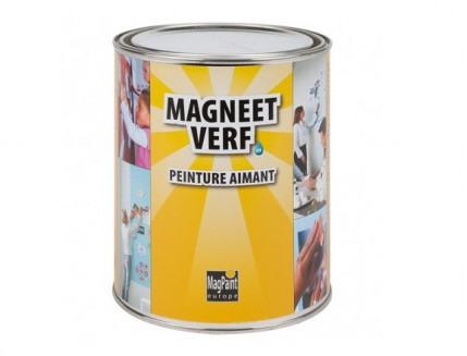 Краска интерьерная магнитная MagPaint - интернет-магазин tricolor.com.ua
