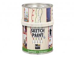 Краска интерьерная маркерная MagPaint Sketchpaint прозрачная