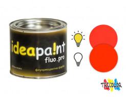 Купить Краска интерьерная флуоресцентная Ideapaint fluo.pro оранжевая