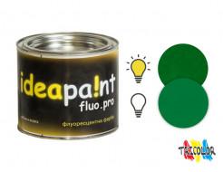 Купить Краска интерьерная флуоресцентная Ideapaint fluo.pro зеленая