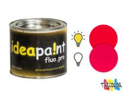 Купить Краска интерьерная флуоресцентная Ideapaint fluo.pro малиновая
