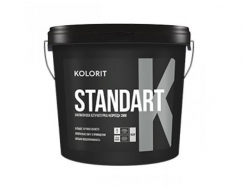 Штукатурка декоративная силикон-модифицированная Kolorit Standart K Короед
