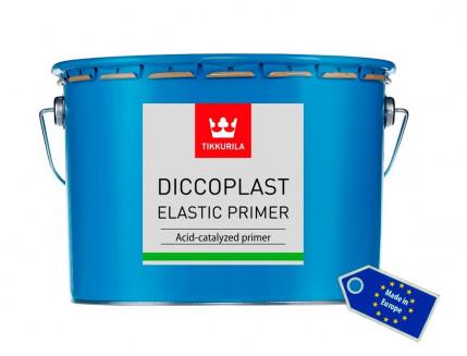 Грунт Диккопласт Эластик Праймер Tikkurila Diccoplast Elastic Primer белый - изображение 2 - интернет-магазин tricolor.com.ua