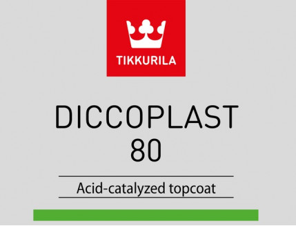 Краска Диккопласт 80 Tikkurila Diccoplast TCL прозрачная 2К А - изображение 3 - интернет-магазин tricolor.com.ua