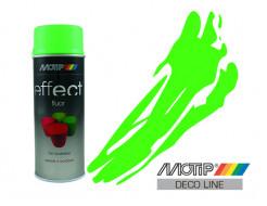 Эмаль аэрозольная флуоресцентная Motip Deco Effect зеленая 400 мл